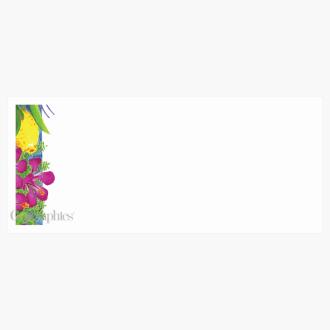 """Luau Envelopes No.10 (4.12""""x9.5"""") Print on Demand"""