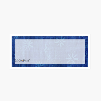 Daisies-Navy-with-Window-MyGeoPrint-Envelope
