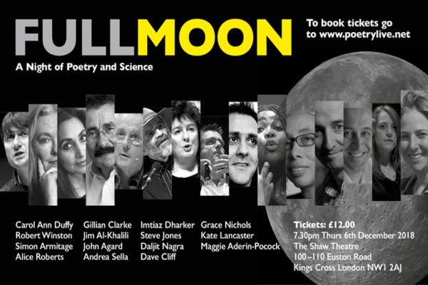 Full Moon A Night Of Poetry and Science
