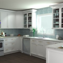 Design A Kitchen Online Wall Splash Guard Free Room Tool The Rta Store Photorealistic Rendering