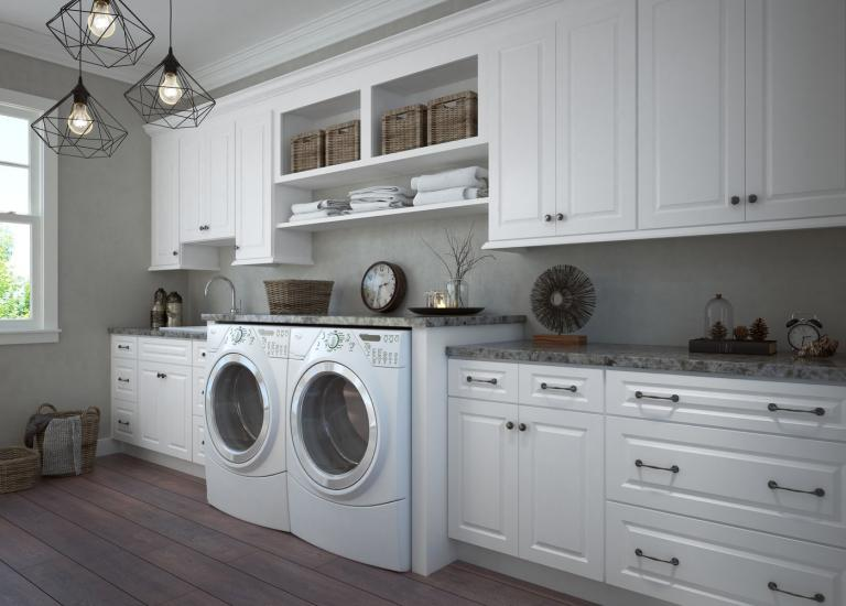 Pre Assembled Laundry Room Cabinets Laundry Cabinets The RTA Store