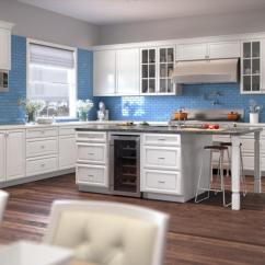 Kitchen Cabinets White Blonde The Rta Store Regency