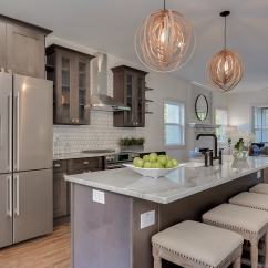 Solid Wood Shaker Kitchen Cabinets Small Table Natural Grey - Ready To Assemble ...