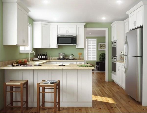 Aspen White Shaker - Ready Assemble Kitchen Cabinets