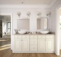 Cambridge Antique White Glaze - Ready to Assemble Bathroom ...