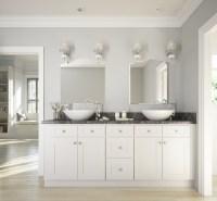 Brilliant White Shaker - Ready to Assemble Bathroom ...