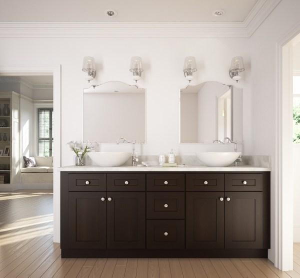Master Bathroom Vanity Cabinet Shaker