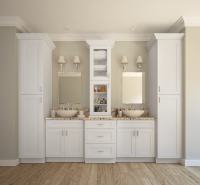 Aspen White Shaker - Ready to Assemble Bathroom Vanities ...