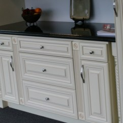 2 Drawer Base Kitchen Cabinet Sears Tables French Vanilla Glaze - Ready To Assemble Cabinets ...