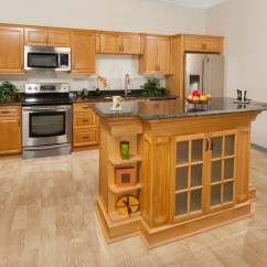 Oak Cabinet Kitchen How To Protect Hardwood Floors In Harvest Ready Assemble Cabinets Product Overview 252520oak 252520kitchen 2525201
