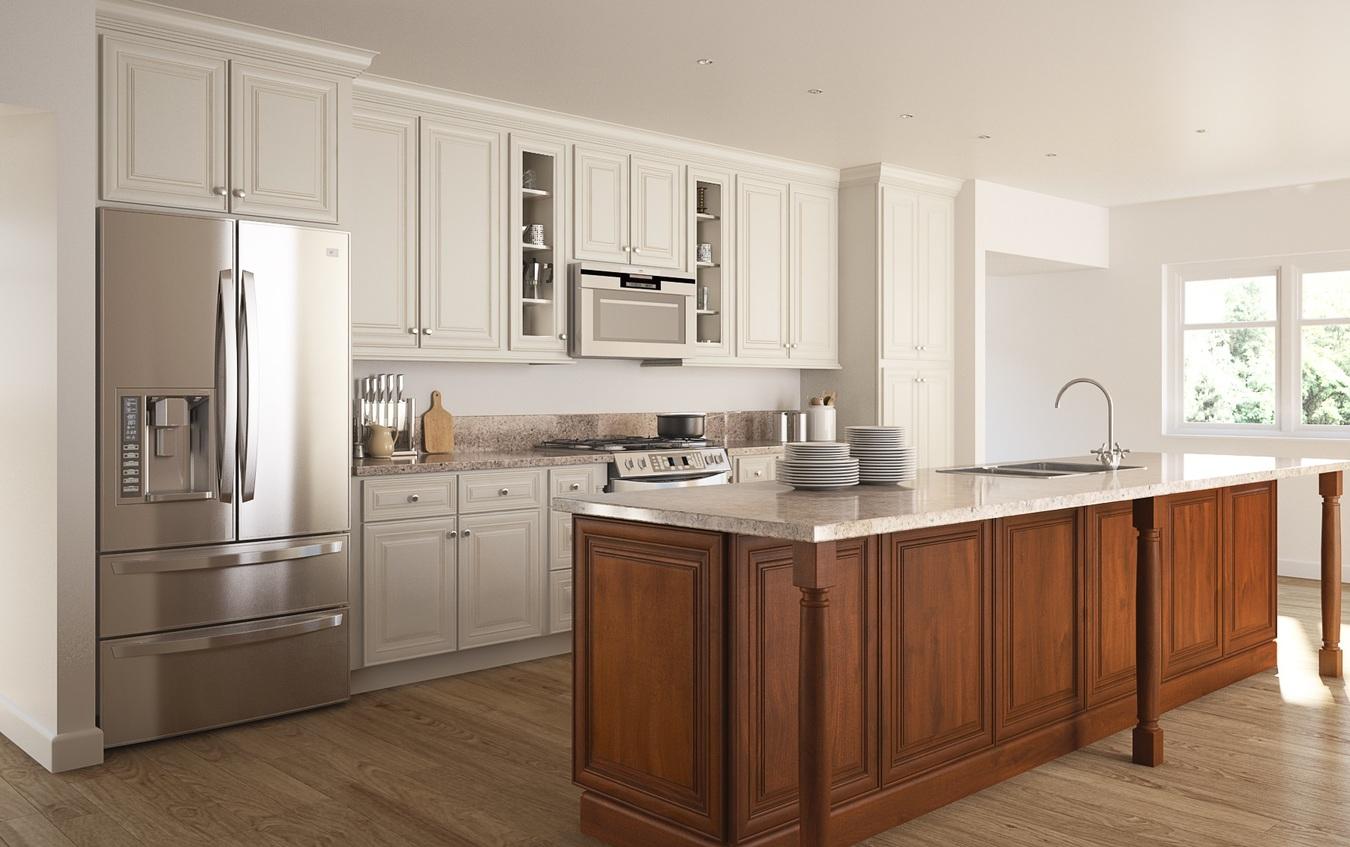 best rta kitchen cabinets under cabinet lighting cambridge antique white glaze ready to assemble product overview 2525252520antique 2525252520white 2525252520glaze