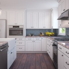 Kitchen Cabinets White Remodel Cost Bay Area The Rta Store Brilliant Shaker