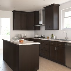 Chocolate Kitchen Cabinets Chinese Dark Shaker Ready To Assemble Product Overview 252520chocolate 252520shaker