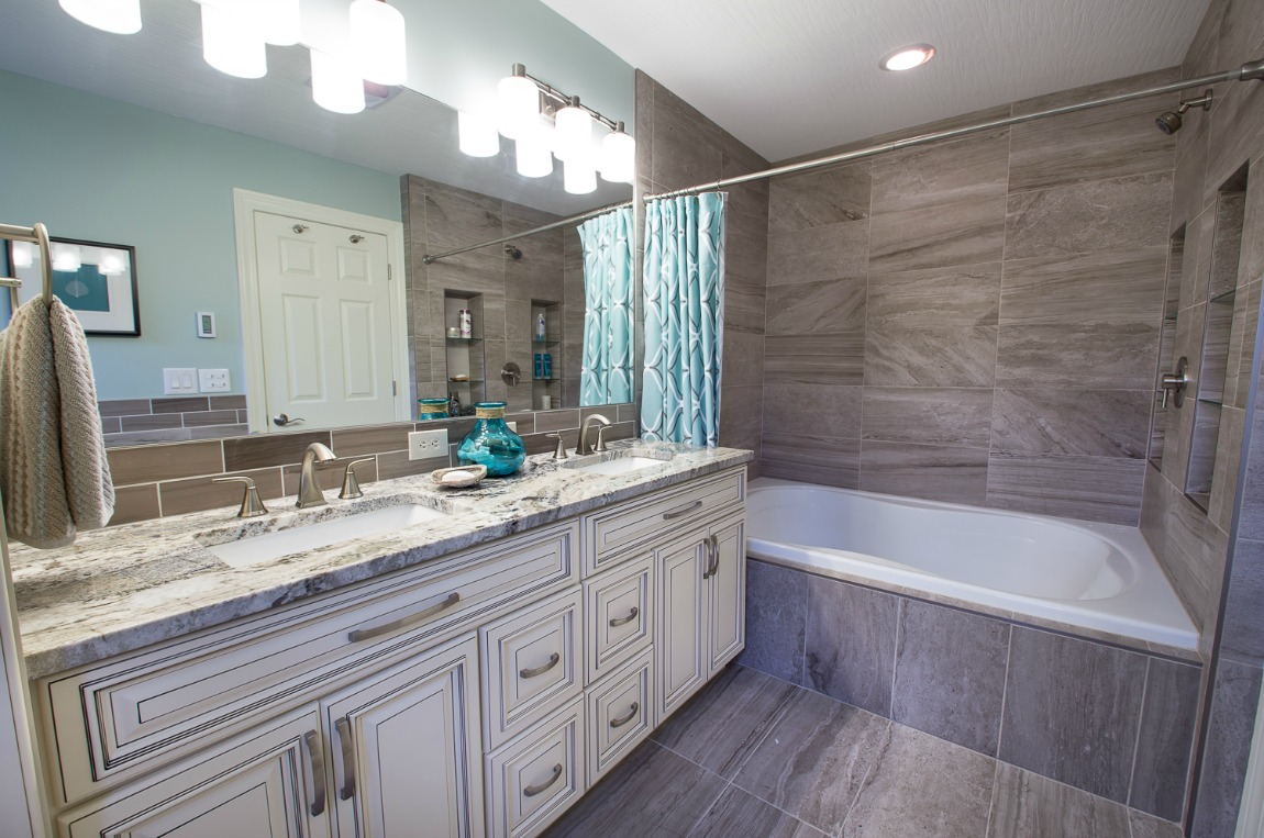assembled kitchen island decor for signature vanilla glaze pre-assembled cabinets ...