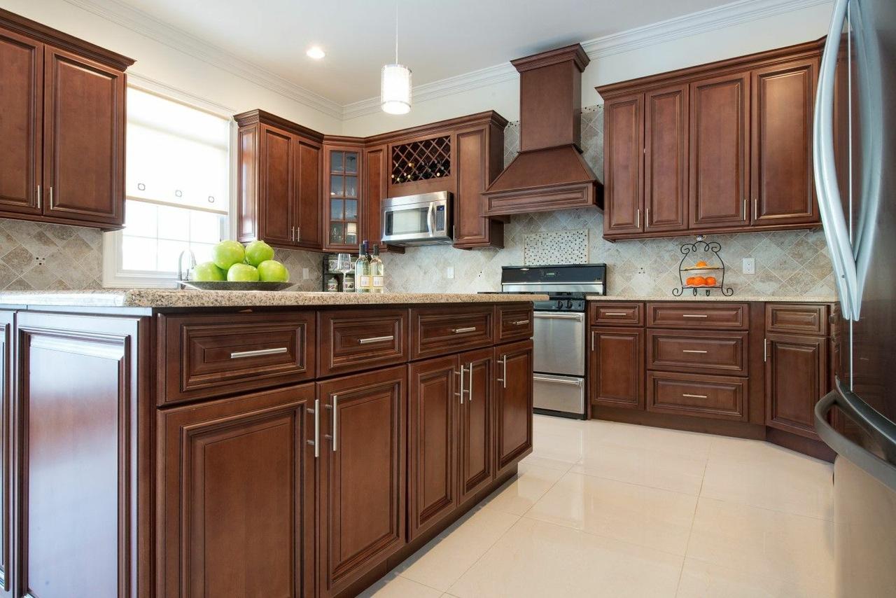 Signature Chocolate  Ready To Assemble Kitchen Cabinets