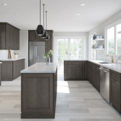 Kitchen Cabinets Sets Storage Jars Pre Assembled The Rta Store Providence Natural Grey Shaker