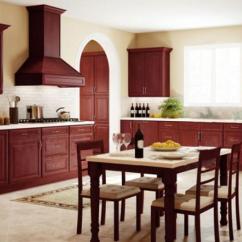 Kitchen Cabinets Sets Wallpaper For Backsplash Pre Assembled The Rta Store Regency Pomegranate Glaze