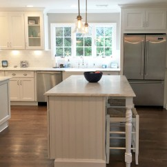 Beach Kitchen Cabinets Wood Floors In By The Sea How To Design A Coastal Inspired Rta Store Newport White