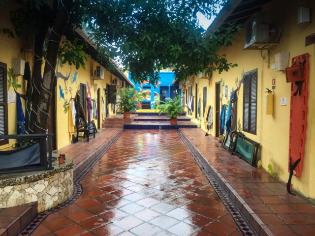 Cartagena Colombia travel tips: El Viajero Hostel, Cartagena