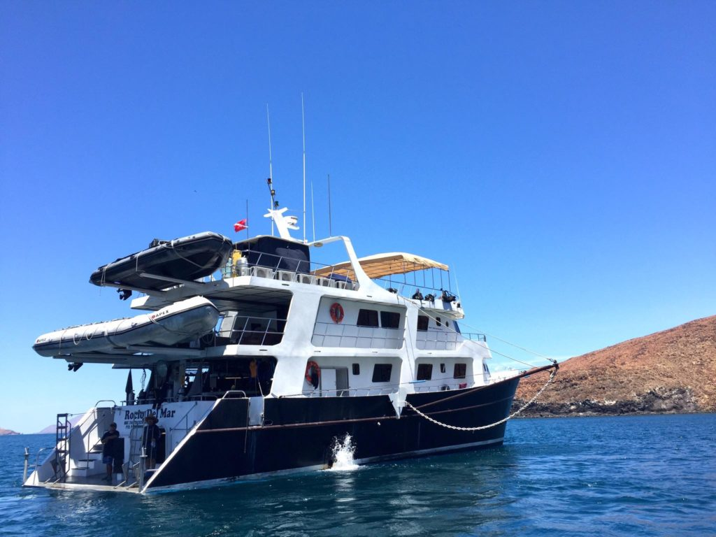 The Rocio del Mar Liveaboard. Our home for a week for our Sea of Cortez liveaboard