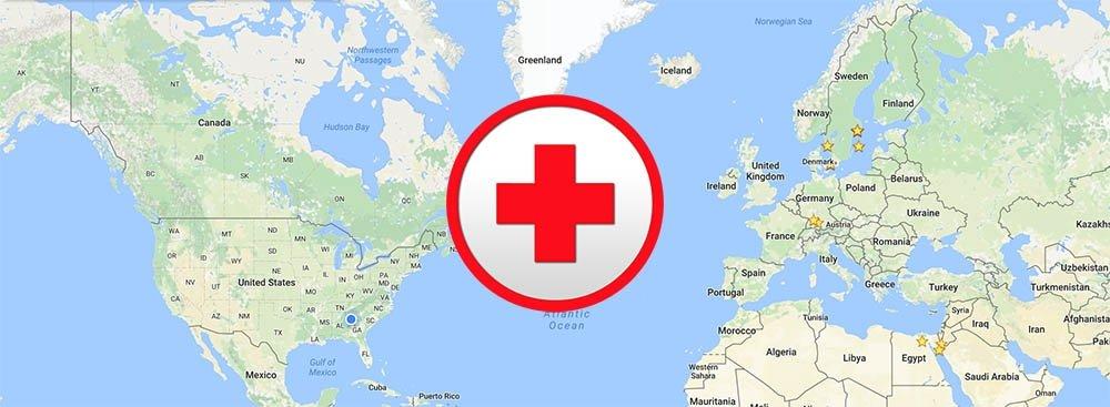do you need travel insurance - world map