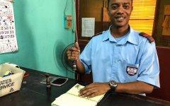 Belize City Postal Clerk