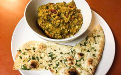 Mirza Ghasemi recipe - food on the plate