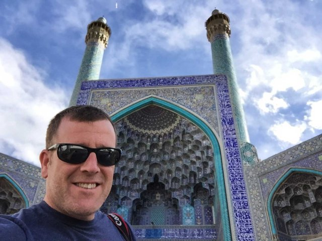 Guided Iran tour - The mosque in Isfahan