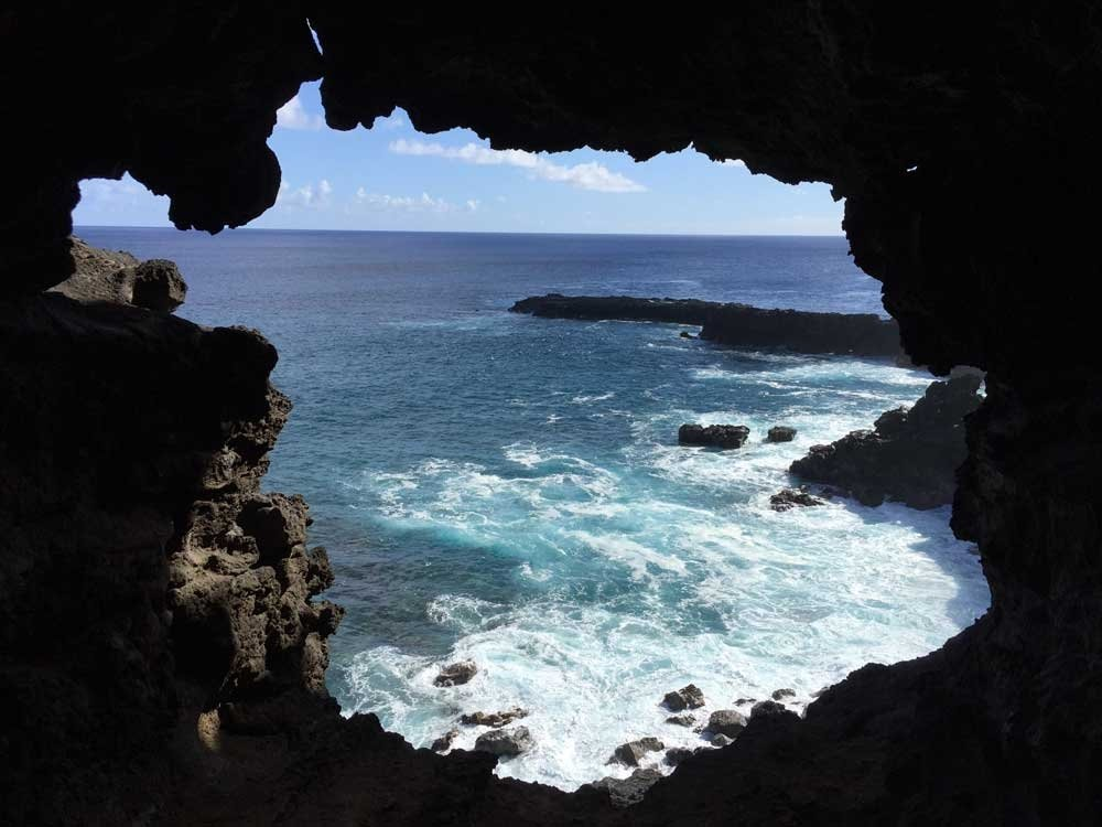 Highlights of Easter Island - Inside a lava tube