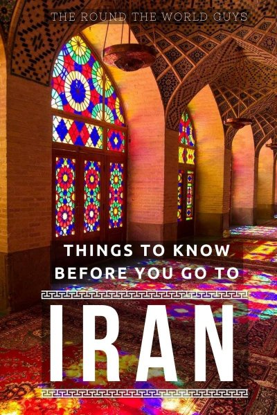 Heading to Iran? Some things to know before you go.