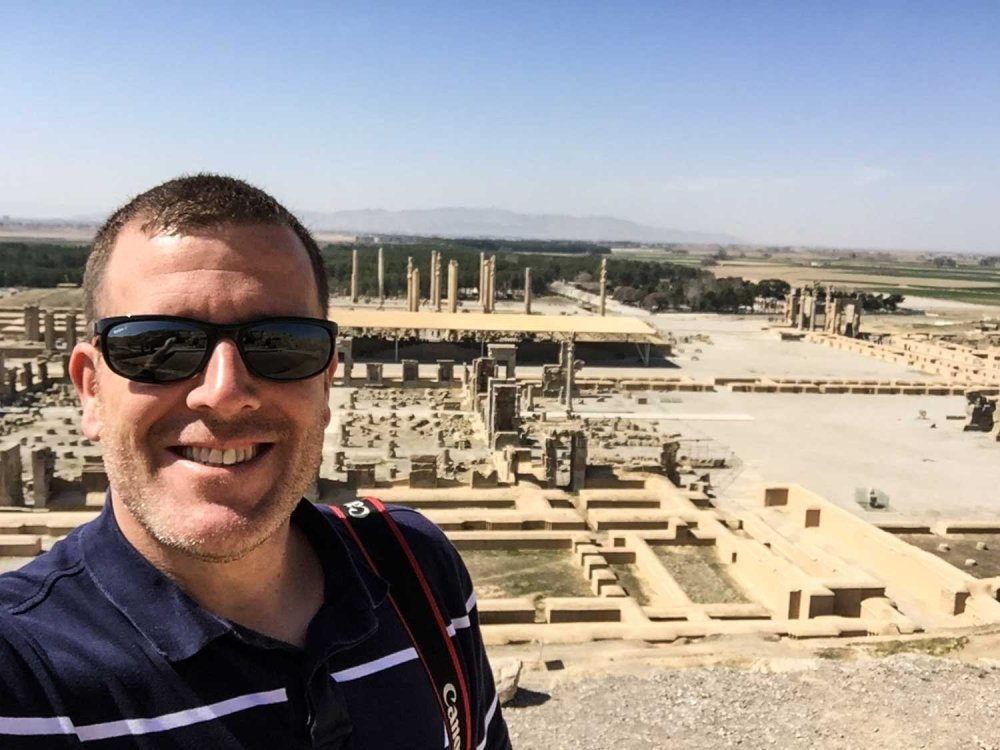 Things to see in Shiraz - Persepolis from above
