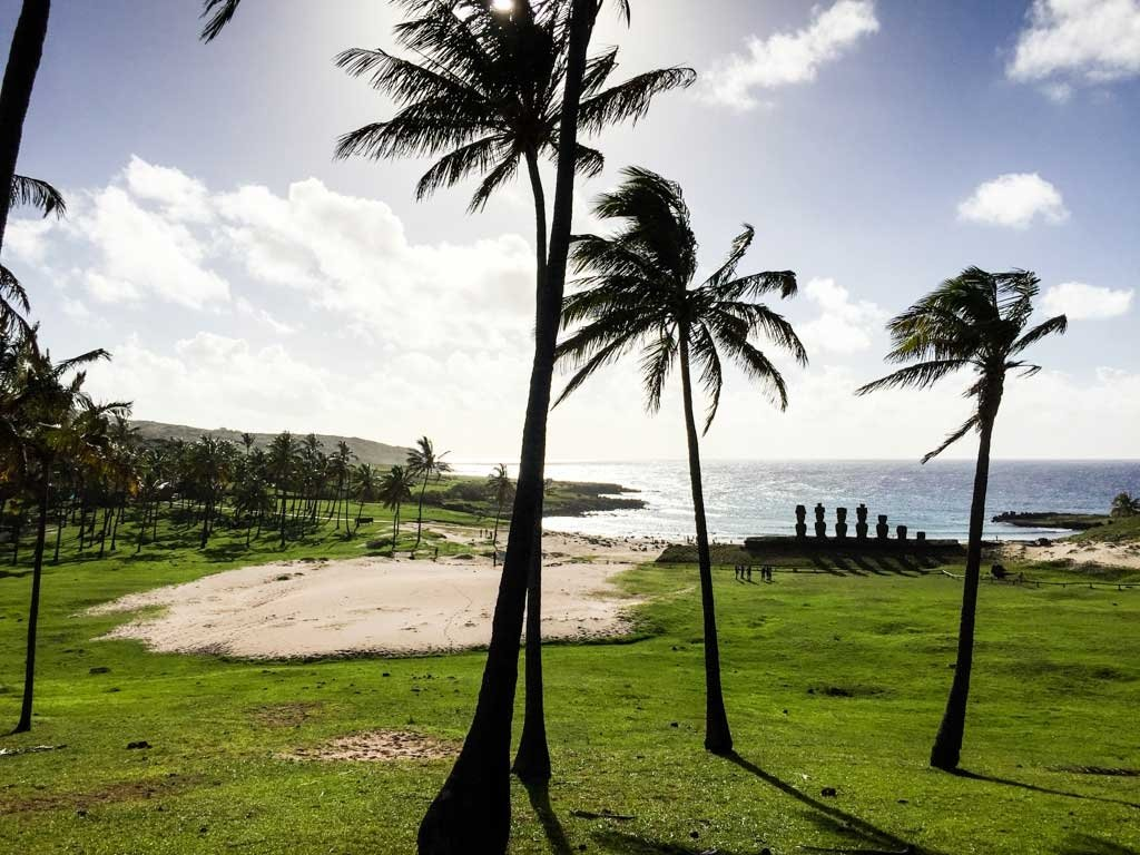 Highlights of Easter Island - Anakena Beach