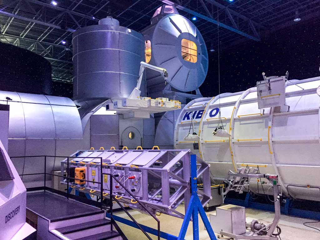 U.S. Space and Rocket Center - A model of the International Space Station