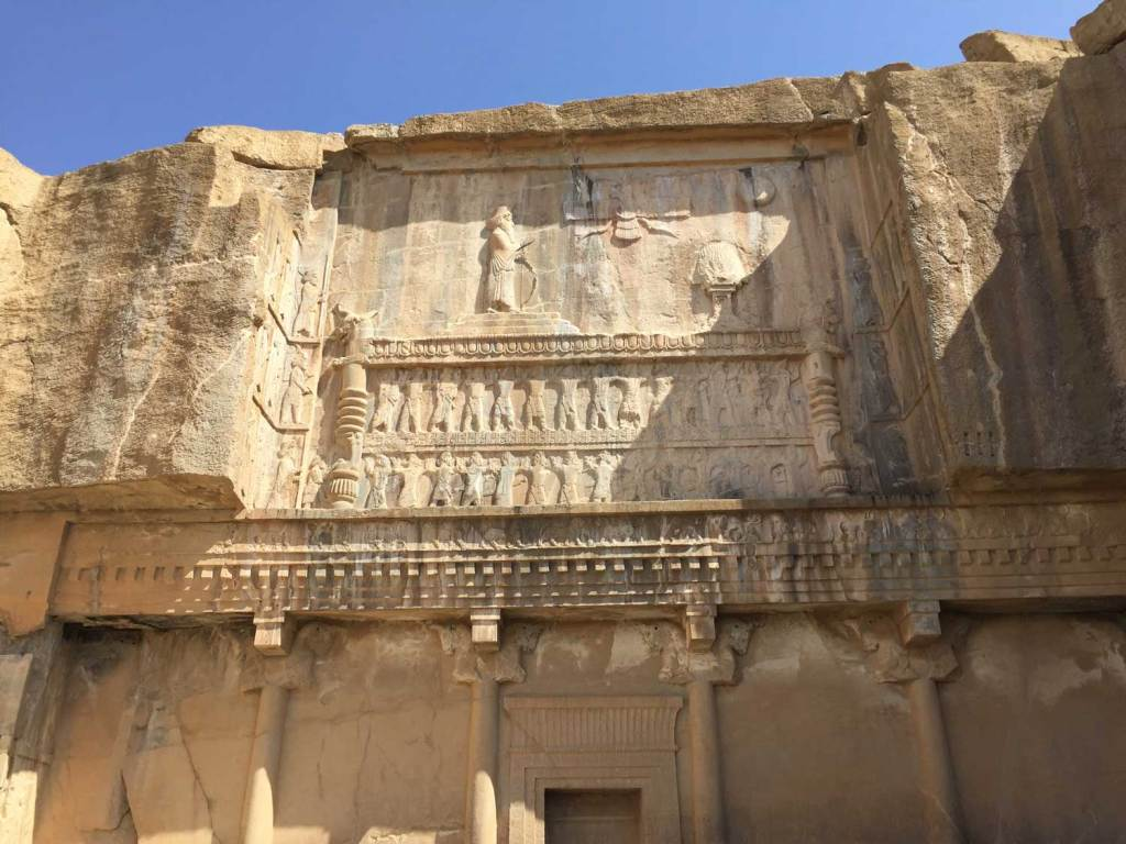 Highlights of persepolis - The tomb of Artaxerxes II