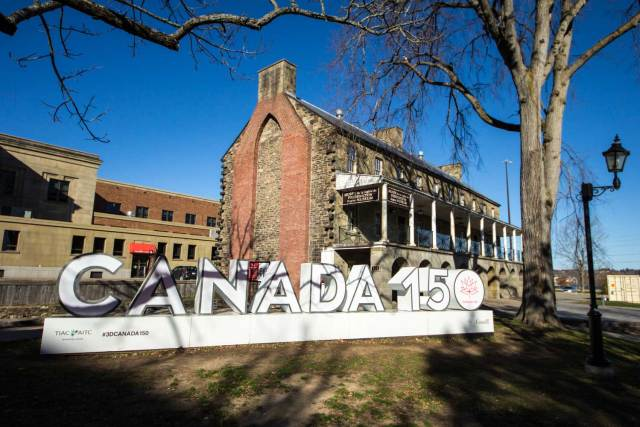 Things to do in Fredericton: Officers' Square in the Garrison District