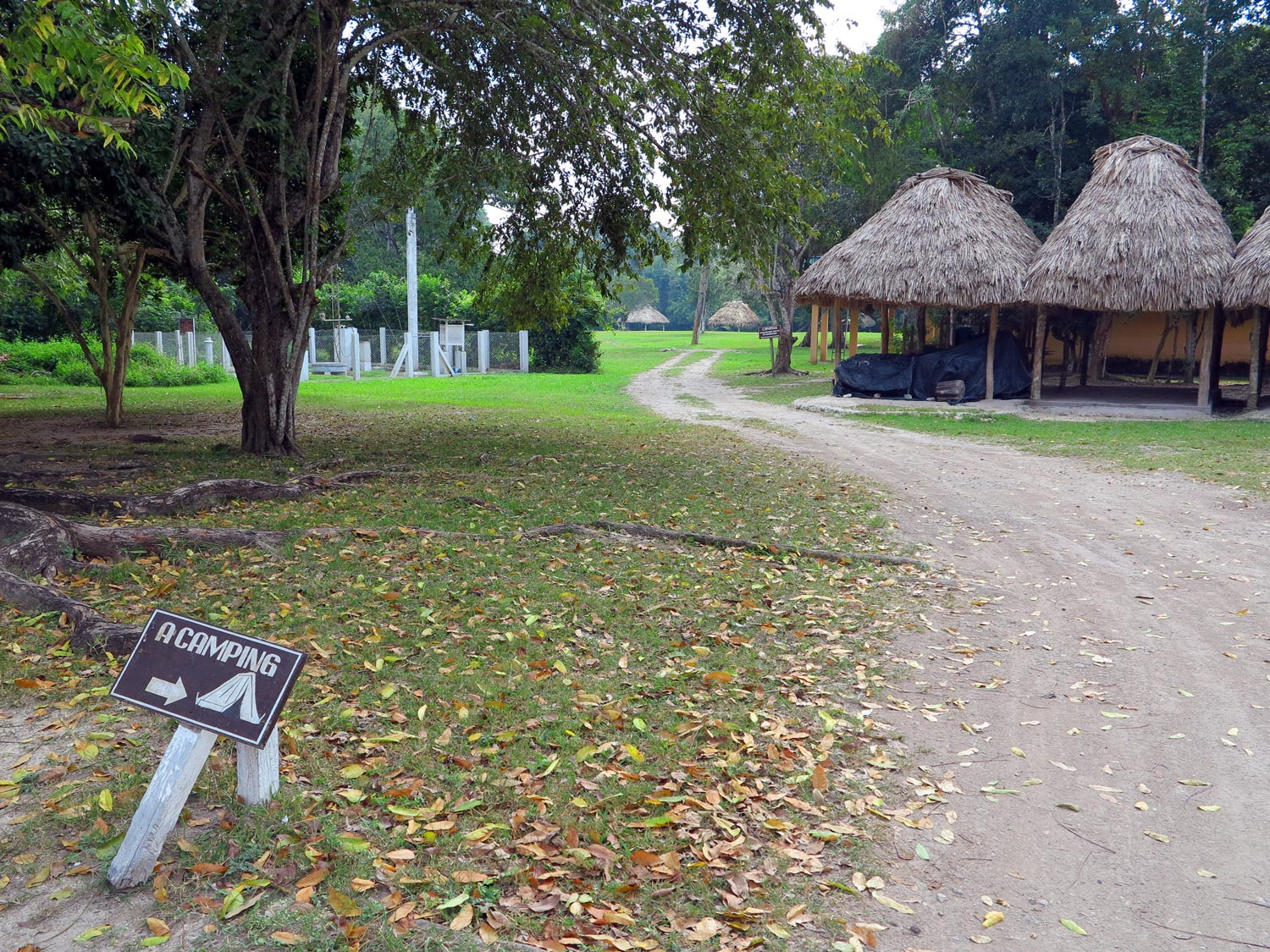 Tikal National Park Accommodations - camping