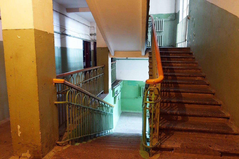 dreamy castle hostel minsk staircase