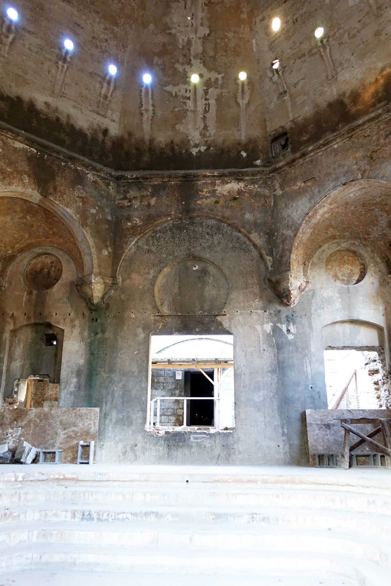 Budapest Thermal Baths molnar janos cave turkish powder mill interior