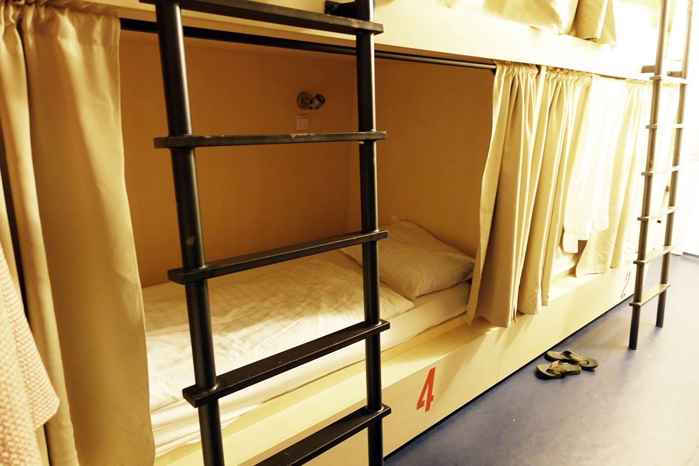 budapest maverick lodge hostel bed