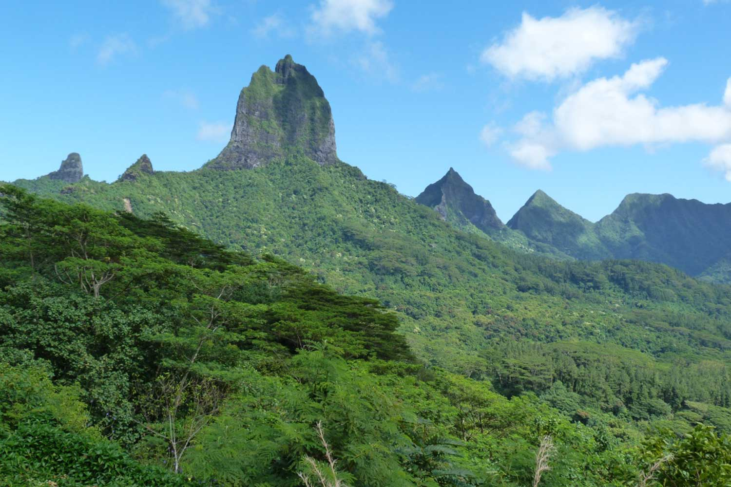 South Pacific Island Vacation destinations - Moorea french polynesia
