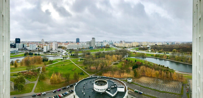 hotel belarus minsk panorama view