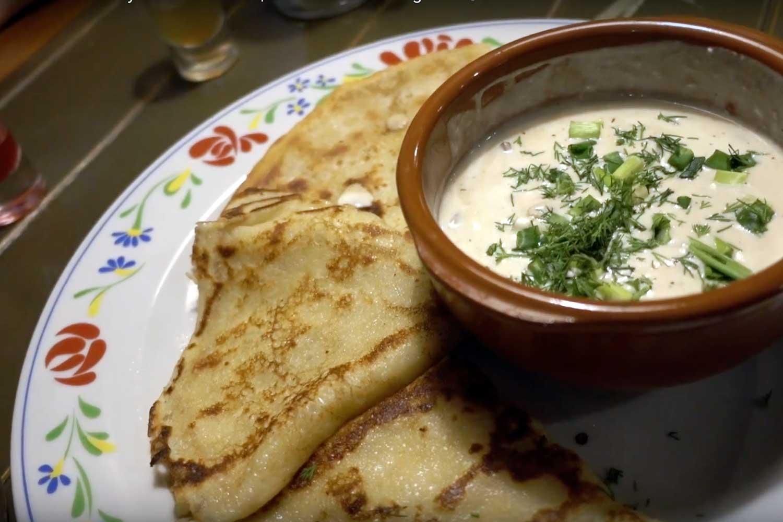 Belarus Food in Minsk Restaurants - Machanka at Valsiki