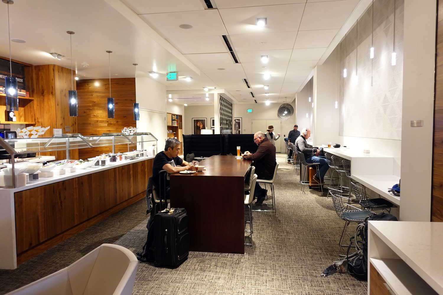 Centurion Lounge Seattle main area