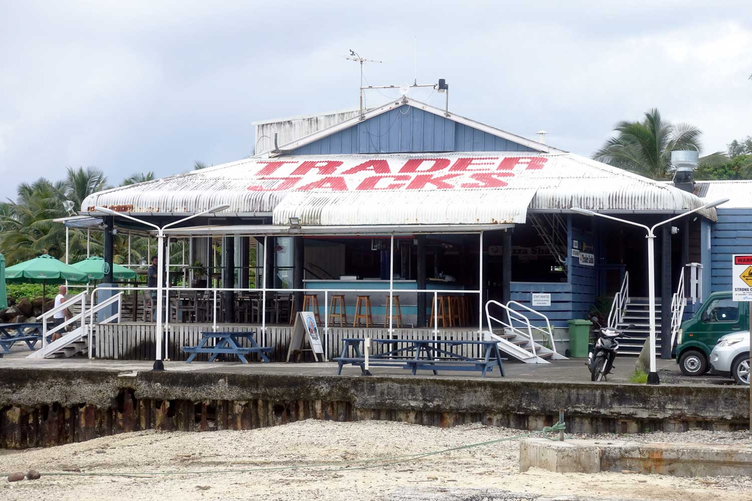 cook islands food trader jacks