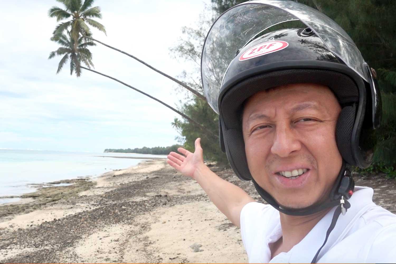 Cook Islands Drivers License helmet