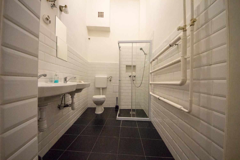 Hopstel BeerHotel - toilet and shower