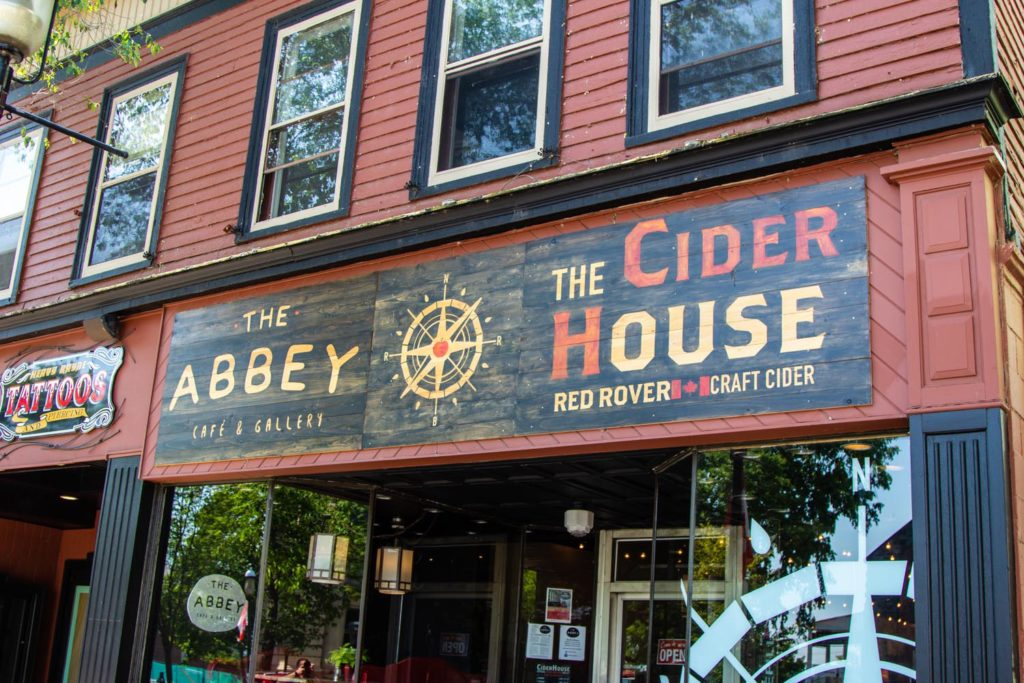 The Abbey and The Cider House