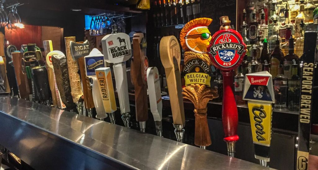 Best craft beer in Fredericton - Snooty Fox's taps