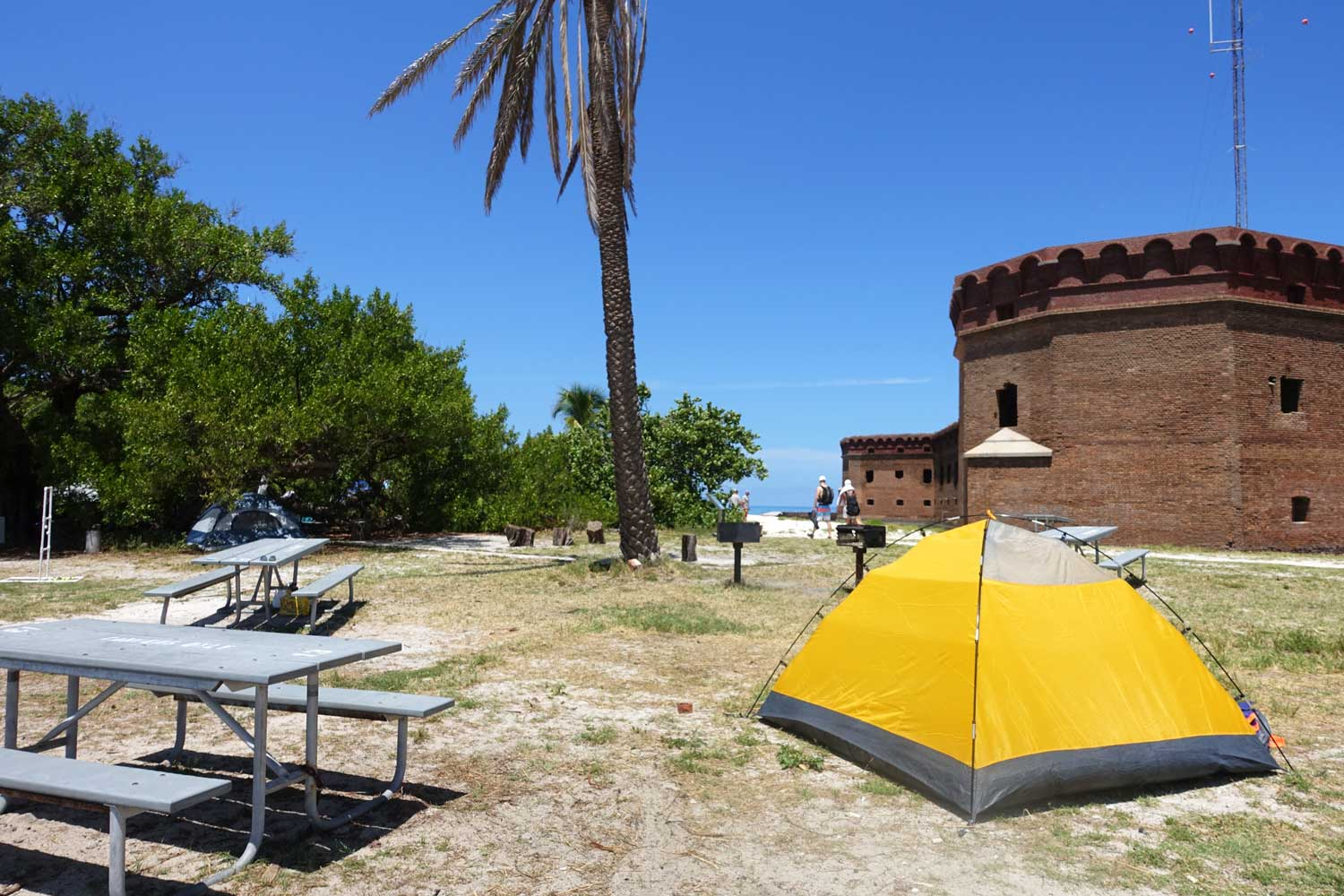 dry tortugas national park camping