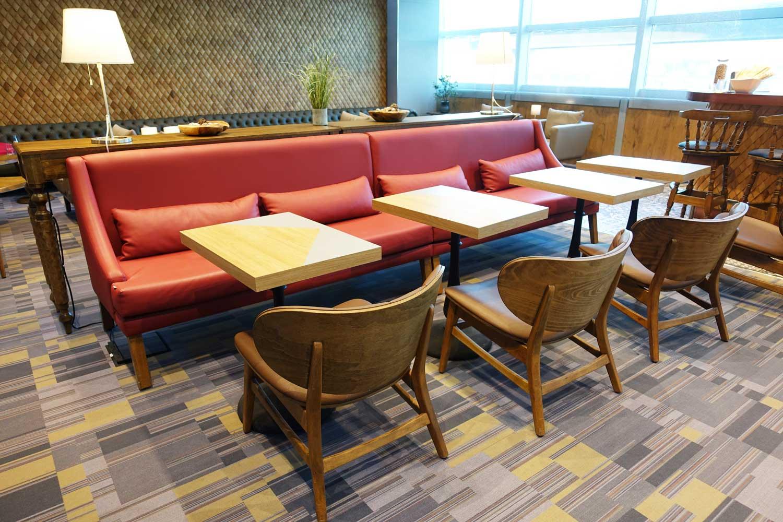 Primeclass Lounge Frankfurt seating